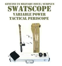 SWATSCOPE SWAT SNIPER PERISCOPE VARIABLE 4x-9x SPOTTING SCOPE US MILITARY ISSUE