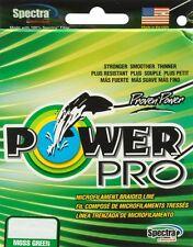 TRESSE POWER PRO VERTE 10lb-150yd 15/100 - 5kg POWERPRO