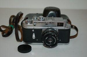 Zorki 4K Vintage 1976 Soviet Rangefinder Camera, Industar Lens. 76734888 UK Sale