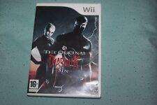 Diabolik El Pecado Original (PAL Version) NINTENDO Wii juego Reino Unido