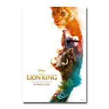 The Lion King 2019 Movie Live Action REALM Art Silk Canvas Poster Print 24x36''