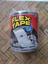 Flex Tape As Seen On TV 4 in.W x 5 ft.L Gray Waterproof Repair Tape Brand New