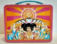Jimi Hendrix Experience Tin Lunchbox Axis Is Love Collectible NEW Embossed