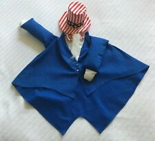 New listing Lawn goose clothes outfits –patriotic Uncle Sam July 4th 24�-27� hat w/ beard