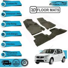 3D Molded Interior Protector Floor Mats Liner Fit for Dacia Sandero 2008-2012