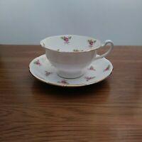 Vintage Royal Grafton Bone China Teacup & Saucer England
