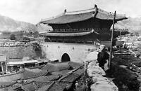 Old Photo.  Seoul, Korea.  Sungnyemun Gate