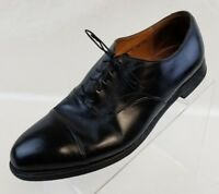 Cole Haan Oxford Cap Toe Mens Black Leather Bench Made In England Shoes Size 10D