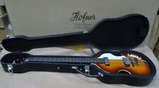 HOFNER VIOLIN BEATLE BASS GUITAR GREAT UK VINTAGE VIBE SUNBURST HI-BB-SB & CASE