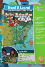 Leap Frog Tag USA United States Jumbo Puzzle Interactive Map