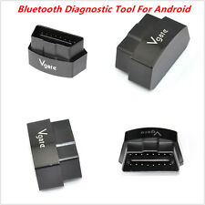 New Black iCar3 OBD2 OBDII Bluetooth Diagnostic Tool Code Reader Adapter Android