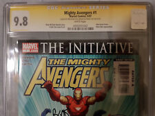 Mighty Avengers #1 SS 9.8 CGC MARVEL Signed by Brian Michael Bendis & Frank Cho