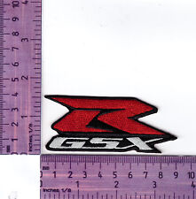 Suzuki GSX R 600, 750, 1100  Motorcycle  Embroidered Badge / Cloth Patch