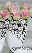 31cm Hoch Grün Keramik Blumenvase Blatt Design Einzigartig Ausgestellt Vase