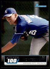 2011 Bowman Topps 100 Mike Montgomery Kansas City Royals #TP15