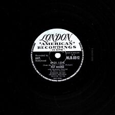 "UK 1957 No.7 PAT BOONE 78 ""April love/QUANDO LE RONDINI"" London HLD 8512 E -"