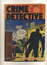 Crime Detective Comics V2#4 (GVG) 1950 Hillman Golden Age Gangsters  (c#09820)