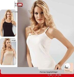Damen Trägerhemd- 4er Pack- Unterhemd- Shirt- Spaghettiträger ( Qualität )N.209