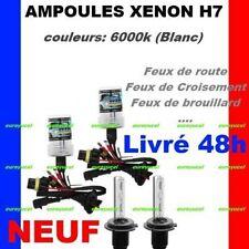 2 AMPOULES XENON 35W POUR KIT XENON HID H7 6000K NEUF PEUGEOT