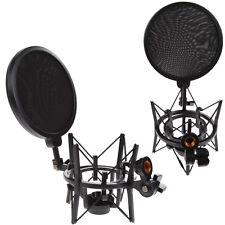 Microphone Suspension Boom Scissor Arm Stand Shock Mount for Studio Broadcast #4