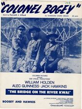 Colonel Bogey, The Bridge On The River Kwai, Vintage Movie Music 1957 Blue versi