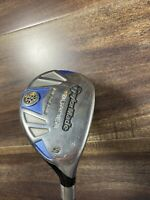 LADIES TAYLORMADE BURNER RESCUE 25* 5 HYBRID GRAPHITE WOMENS GOOD