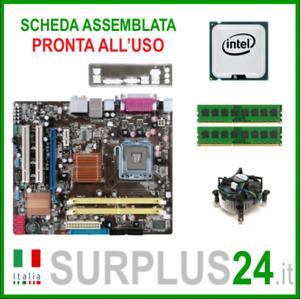 ASUS P5KPL-AM + Core™2 Quad Q9400 + 4GB RAM | Kit Scheda Madre 775 I/O #2383