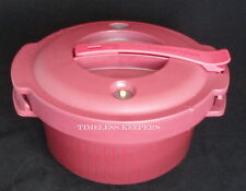 Free Ship Tupperware Microwave Pressure Cooker Save Time Eat Healthy Hearty NEW
