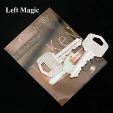 The Key (Gimmicks & Instructions) - Silver Magic Tricks Magician Close Up Props