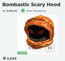 Bombastic Scary Hood Roblox Limited