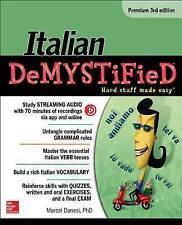 Italian Demystified, Premium by Marcel Danesi (Paperback, 2016)