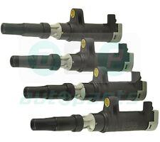 4 Pack Pencil Ignition Coils for Renault Megane Mk2 1.4 16V, 1.6, 1.6 16V