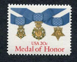 MEDAL OF HONOR 1983 SCOTT 2045 Flawless Original Gum, Excellent Stamp MNH (2Da2)