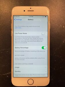 Apple iPhone 6 - 64GB - Silver (Unlocked) A1549 (GSM) (CA)