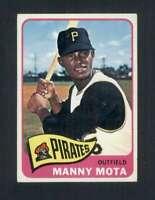 1965 Topps #463 Manny Mota EX/EX+ Pirates 111830