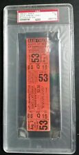 PSA 1959 S.F. Giants Vs. Pittsburgh Pirates WILLIE MCCOVEY 1ST HR Full Ticket