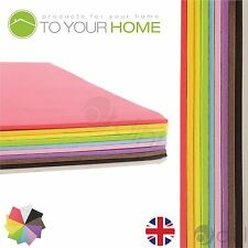 A4 EVA Foam Kids Craft Project Sheets 2mm Thick Assorted Colours Pack of 10