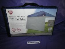 Quest 10 x 10 Slant Leg Tent Side Wall Wind Curtain CEH01739