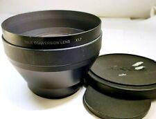 Sony Telephoto Tele-Conversion Lens x1.7 VCL-HG1758 Mint 58mm rim AUX OEM