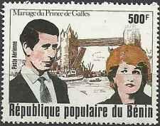 Timbre Lady Diana Bénin PA297 ** lot 5654