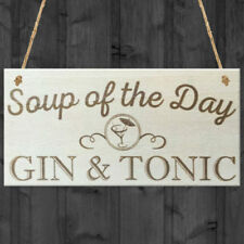 Rectangle Gin & Tonic Decorative Hanging Signs