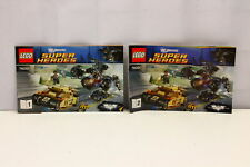 LEGO DC Universe Tumbler Chase 76001 Instruction Booklets 1 & 2 ONLY (U-B5S5 228