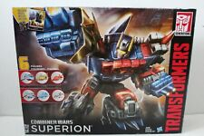 Transformers Combiner Wars Superion complete G2 G1 CW Generations Hasbro 2015