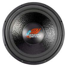 """Lanzar DCT15D 2000 Watt 15"""" High Power Dual 4-Ohm Voice Coil Subwoofer"""