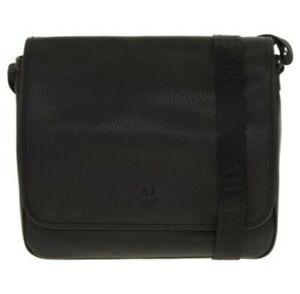 Armani Jeans Mens Large Cross Body Bag Fits Laptop