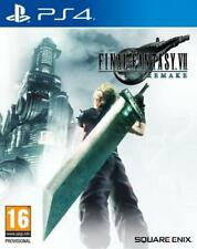 FINAL FANTASY VII 7 REMAKE PS4 CD FISICO NUEVO PRECINTADO ESPAÑOL CASTELLANO