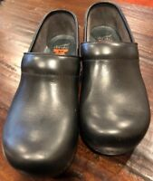 DANSKO XP Black Leather Professional Clogs Shoes Sz. 40 US 9.5-10 *Very nice!