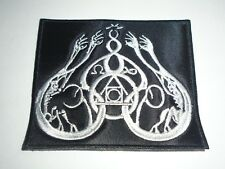 GRIS BLACK METAL EMBROIDERED PATCH