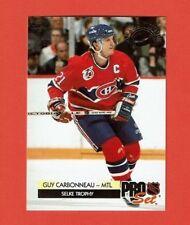 1992-93 Pro Set AWARD WINNERS insert # CC5 Guy Carbonneau MONTREAL CANADIENS