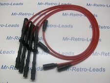RED 8MM IGNITION LEADS WILL FIT VW GOLF MKIV 1.8 4MOTION AUDI LEON BORA QUALITY.